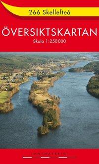 bokomslag 266 Skellefteå Översiktskartan : 1:250000