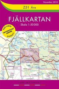bokomslag Z51 Åre Fjällkartan : 1:50000