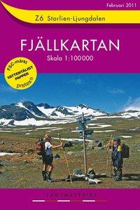 Z6 Storlien-Ljungdalen Fjällkartan : 1:100000