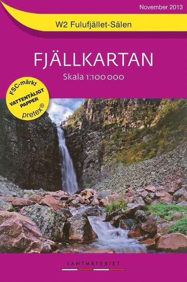 bokomslag W2 Fulufjället-Sälen Fjällkartan : 1:100000