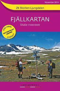 bokomslag Z6 Storlien-Ljungdalen Fjällkartan : 1:100000