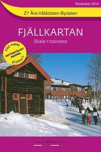 Z7 Åre-Vålådalen-Bydalen Fjällkartan : 1:100000