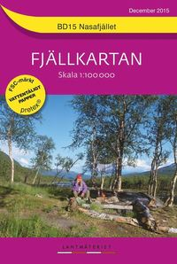 bokomslag BD15 Nasafjället Fjällkartan : 1:100000