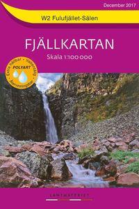 bokomslag W2 Fulufjället-Sälen Fjällkartan : Skala 1:100 000