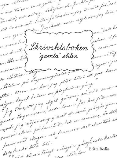 bokomslag Skrivstilsboken: Gamla stilen
