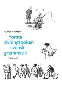 bokomslag Första övningsboken i svensk grammatik
