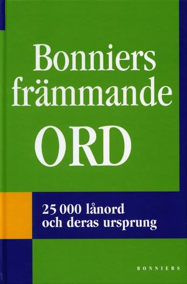 bokomslag Bonniers främmande ord