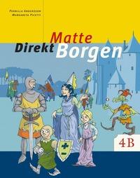 bokomslag Matte direkt. Borgen. 4 B, Grundbok