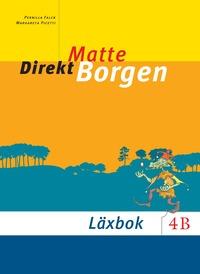 bokomslag Matte direkt. Borgen. 4 B, Läxbok