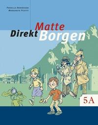 bokomslag Matte direkt. Borgen. 5 A, Grundbok