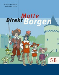 bokomslag Matte direkt. Borgen. 5 B