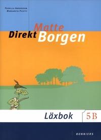 bokomslag Matte direkt. Borgen. 5 B, Läxbok