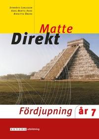 bokomslag Matte Direkt Fördjupning år 7