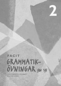 bokomslag Grammatikövningar för Sfi. 2, Facit