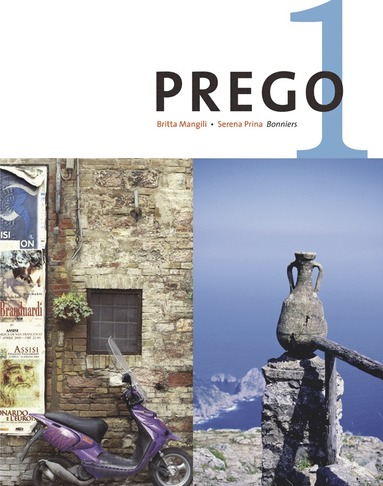bokomslag Prego 1 Allt i ett-bok inkl. ljudfiler för eleven
