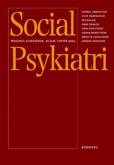 bokomslag Social psykiatri