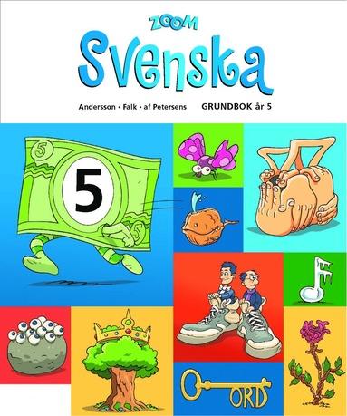 bokomslag Zoom Svenska Grundbok år 5