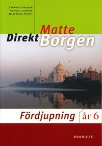 bokomslag Matte direkt : år 6. Fördjupning