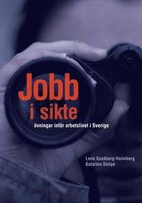 bokomslag Jobb i sikte inkl. ljud som mp3-filer (hemsidan)