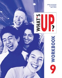 bokomslag What's up? år 9 Övningsbok