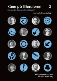 bokomslag Känn på litteraturen 3  en guide genom tio klassiker
