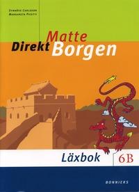 bokomslag Matte Direkt Borgen 6B Läxbok