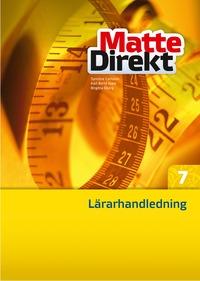 bokomslag Matte Direkt 7 Lärarhandledning inkl. cd