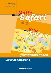 bokomslag Matte Direkt Safari Förskoleklassen Lärarhandledning