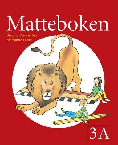 bokomslag Matteboken Grundbok 3A
