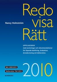 bokomslag Redovisa Rätt 2010