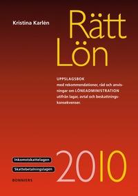 bokomslag Rätt Lön 2010