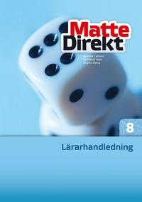 bokomslag Matte Direkt 8 Lärarhandledning inkl. cd
