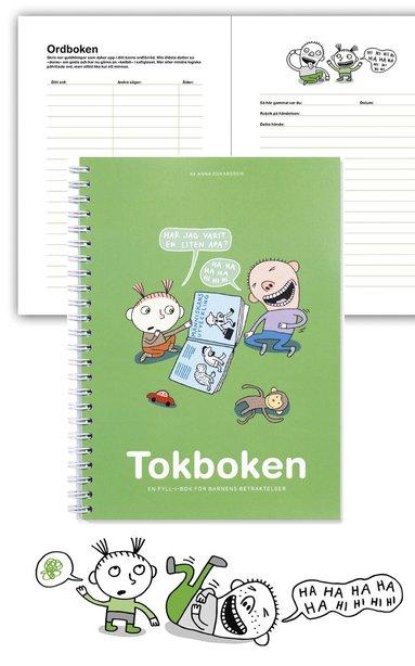 bokomslag Tokboken : en fyll-i-bok för barnens betraktelser