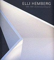 bokomslag Elli Hemberg : 1896-1994 - En konstnärsbiografi