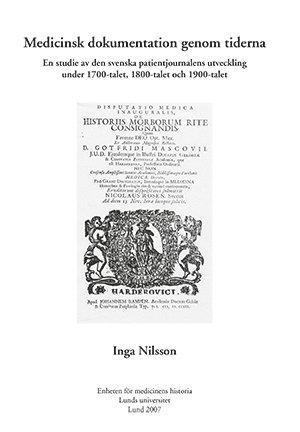 bokomslag Medicinsk dokumentation genom tiderna