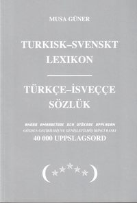 bokomslag Turkisk-svenskt lexikon