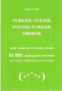 bokomslag Turkisk-Svensk Svensk-Turkisk Ordbok