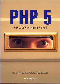 bokomslag PHP 5 programmering