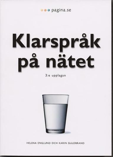 bokomslag Klarspråk på nätet,3:e uppl