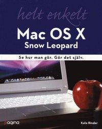 bokomslag Mac OS X Snow Leopard helt enkelt : se hur man gör Gör det själv.