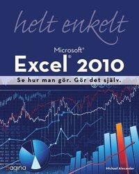 bokomslag Excel 2010 helt enkelt