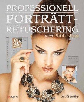 bokomslag Professionell porträttretuschering med Photoshop - för fotografer