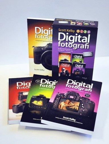 bokomslag Digitalfotografi : lär dig yrkesfotografernas hemligheter - steg för steg (Paketutgåva 4 delar)