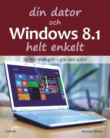 bokomslag Din dator och Windows 8.1 Helt enkelt