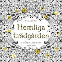 bokomslag Hemliga Trädgården - En skattjakt i målarboken