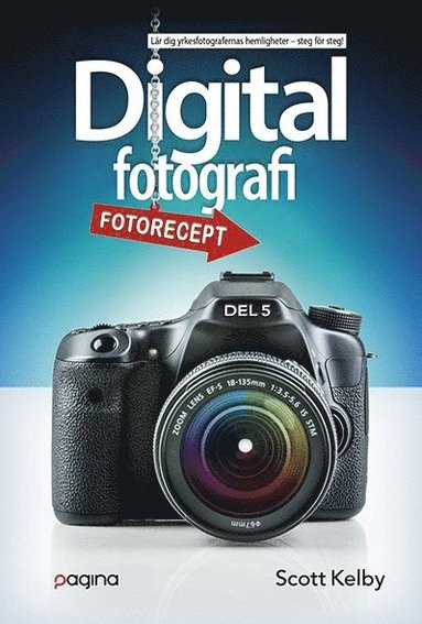 bokomslag Digitalfotografi, femte delen
