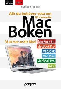 bokomslag Mac-boken - allt du behöver veta om OS X Yosemite