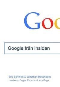 bokomslag Google från insidan