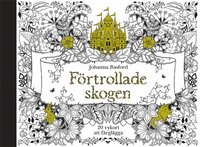 Förtrollade skogen - 20 vykort att färglägga