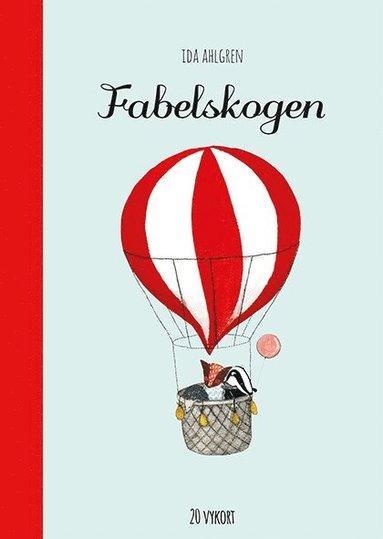 bokomslag Fabelskogen : 20 vykort